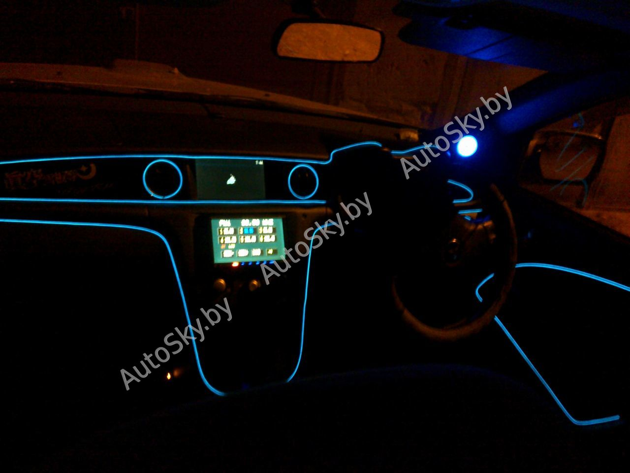 Подсветка днища автомобиля: что выбрать и как установить 43