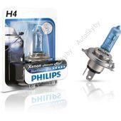 Галогеновая лампа H4 Philips BlueVision Ultra