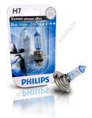 Галогеновая лампа H7 Philips BlueVision Ultra