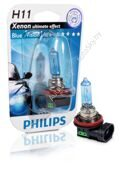 Галогеновая лампа H11 Philips BlueVision Ultra